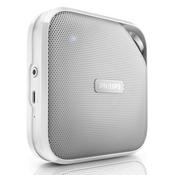 Philips Prijenosni Bluetooth® zvučnik Philips BT2500W slobodni govor, bijela