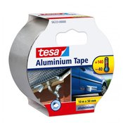 lepilni trak TESA Aluminium Tape 10 m / 50 mm, srebrn