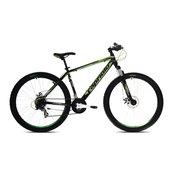 Capriolo bicikl mtb oxygen 26/21ht crna-zelena