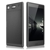 OVITEK ZA SONY XPERIA XZ1 TECH-PROTECT TPULEATHER BLACK