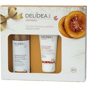 Delidea Orange Peel & Amber Body & Hands Set - 1 ste