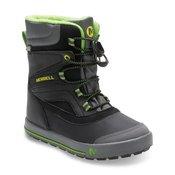 MERRELL otroški čevlji ML-SNOW BANK 2.0 WTRPF, črni