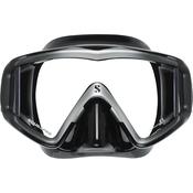 Scubapro Mask Crystal VU - Sil. Black - Black/Silver