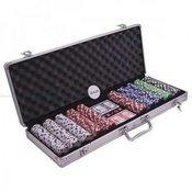 Poker set 500 kom sa 5 razlicitih boja ( POK-500J )