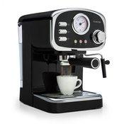 KLARSTEIN espresso aparat za kavu Espressionata Gusto, 1100 W, crni