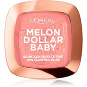L'Oréal Paris Wake Up & Glow Melon Dollar Baby rumenilo za sve tipove kože nijansa 03 Waternelon Addict 9 g
