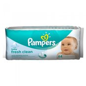 PAMPERS WIPES 64