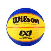Wilson Fiba 3x3 Game Inter, košarkarska žoga, oranžna