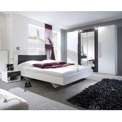 HELVETIA spalnica VERA, črn oreh-bela