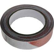 TOOLCRAFT Ljepljiva traka upozorenja TOOLCRAFT ANST255M-RW crveno-bijela (D x Š) 5 m x 25 mm sadržaj: 1 rola