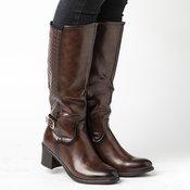 SAFRAN duboke ženske čizme LX601801, braon