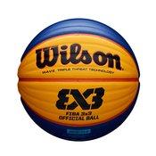Wilson FIBA 3X3 OFFICIAL GAME BALL, košarkarska žoga, oranžna