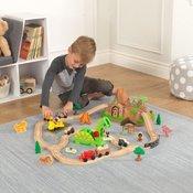 Kidkraft igralni set z železnico Dinozaver