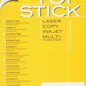 Etikete TOPSTICK za CD 117mm A4/2 1/100