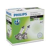 PHILIPS par avtomobilskih žarnic ExtraLife (12V, H7, 55W)
