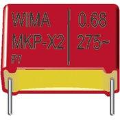 Wima MKP-folijski kondenzator, radijalno ožicen 0.1 µF 400 V/DC 5 % 22.5 mm (D x Š x V) 26.5 x 6 x 15 mm Wima MKP1G031005B00JB0