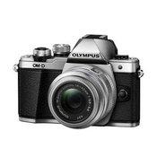 OLYMPUS D-SLR fotoaparat OM-D E-M10 II + EZ-M14-42mm II R (V207051SE000), srebrn