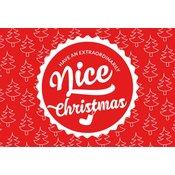 """Cestitka  """"Nice Christmas"""" - Nice Christmas!"""