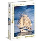 Clementoni sestavljanka Plachetnice, 1500-delni