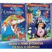 Kupi Alisa U Zemlji Cudesa/ Knjiga O Džungli 2 (DVD)