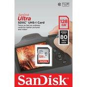 SANDISK memorijska kartica Ultra SDXC 128GB SDSDUNC-128G-GN6IN