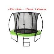 SPARTAN trampolin (mreža, lestev), 305cm
