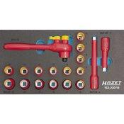 Hazet Komplet nasadnih kljuceva, metricki 3/8 (10 mm) 18-dijelni set Hazet 163-230/18
