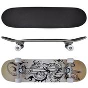 VIDAXL rolka / skateboard ovalne oblike, Dizajn Zmaja