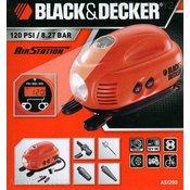 BLACK & DECKER kompresor ASI200