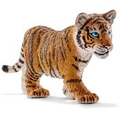 SCHLEICH igracka Divlja životinja Tigar, mladunce, narandžasto-crna