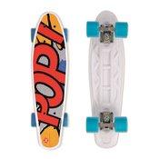 STREET longboard Penny board Surfing POP BOARD Popsi Yellow