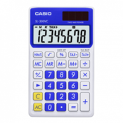 CASIO kalkulator SL 300V (Plavi) Kalkulator džepni, Bela/Plava