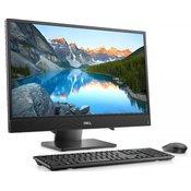 DELL Inspiron 3480 23.8 FHD i3-8145U 4GB 1TB crni + tastatura + miš