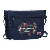 Pepe Jeans ?kolska torba / laptop torba na rame Flowers Blue