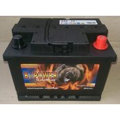 akumulator B-POWER 55Ah DESNI PLUS (D+) B-POWER-12V