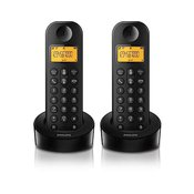Philips D1202B/53 Duo bežični telefon