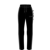Puma PUMA FUSION Pants, hlače trenirka ž., črna