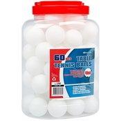 žogice za namizni tenis Get&Go 60 kos bele