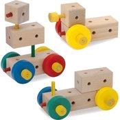 Matador Komplet lesenih konstrukcij Ki 0 od 3 let naprej-1 k.