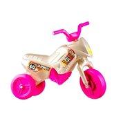 Yupee tricikl Enduro, veliki, bijelo rozi