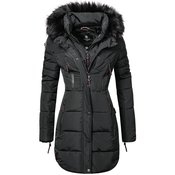 MARIKOO ženska zimska jakna MOONSHINE, črna