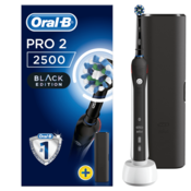 ORAL-B električna zobna ščetka Pro 2 2500 Black Edition Cross Action