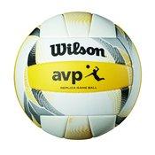 Wilson AVP II REPLICA, mivka lopta za odbojku, žuta