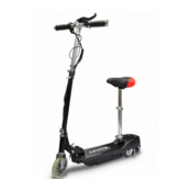 Elektricni skuter sjedalom 120W Crni
