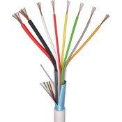 ELAN Alarmni kabel LiYY 6 x 0.22 mm + 2 x 0.75 mm bijele boje ELAN 27061 roba na metre