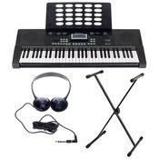 Električna klaviatura s stojalom in slušalkami Startone MK-200