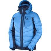 SALOMON moška smučarska jakna ICESHELF JKT, modra