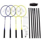 Tecnopro SPEED 200 - 4 player NET SET, set badminton, žuta