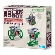 4M set Mini solarni robot 3 u 1