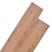 VIDAXL PVC talna plošča (5.26m2), orehovo rjava